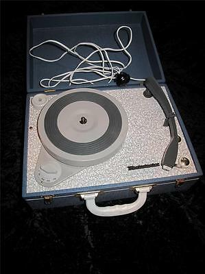 "VINTAGE PORTABLE ANALOGUE RECORD PLAYER ""Westminster"" 1960s Superb"