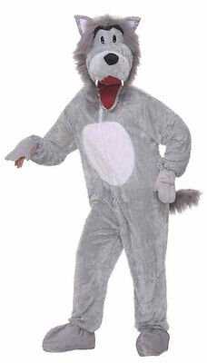 NEW Little Red Riding Hood DELUXE ADULT STORYBOOK WOLF MASCOT COSTUME