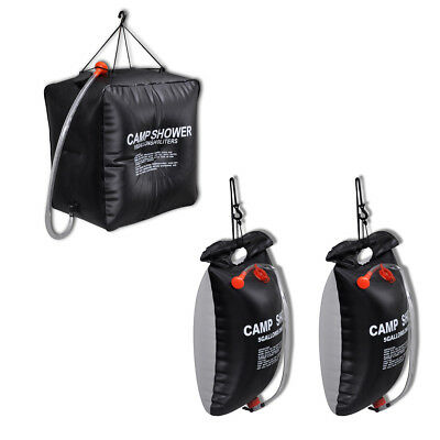 #bNew Outdoor Solar Shower Camping Hiking Equipment Heating Shower Bag 20L / 40L