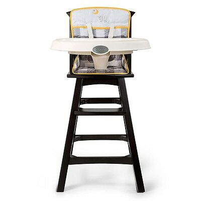 Summer Infant Classic Comfort Wood Highchair - Buffalo Check