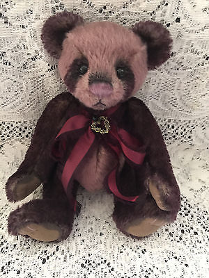 Charlie Bears Tibbles 2015 Isabelle Mohair Collection FREE US SHIP