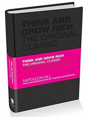 Think and Grow Rich: The Original Classic New Hardcover Book Napoleon Hill