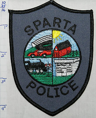 North Carolina, Sparta Police Dept Patch