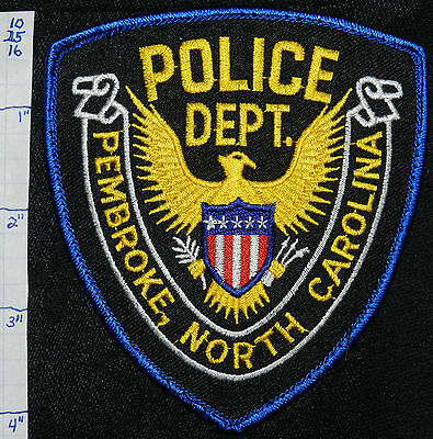North Carolina, Pembroke Police Dept Patch