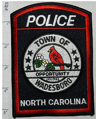 North Carolina, Wadesboro Police Dept Patch
