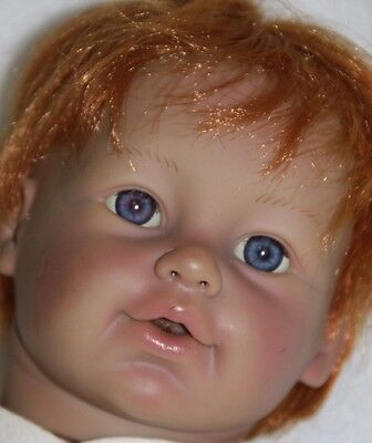 BABY SO REAL IRWIN 45 CM BABY DOLL LIFE LIKE DOLL 2007 red head baby boy
