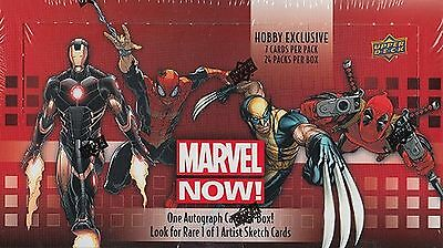 Upper Deck Marvel Now! Box