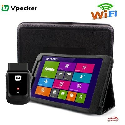 WIN10 OS Tablet + Vpecker  Easydiag WIFI OBDII Diagnostic Scan Tool Full Systems