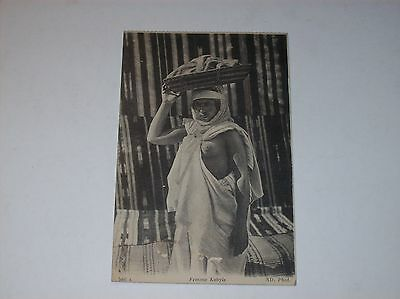 Young Femme Kabyle vintage ethnic postcard Africa Social History Paris publisher