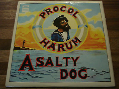 Procol Harum - A Salty Dog Orig 1969 Uk Regal Zonophone Lp Slrz.1009 Very Rare
