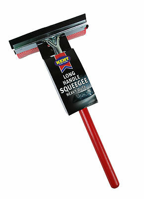 Kent Car Care Q4607 Long Handle Heavy Duty Squeegee