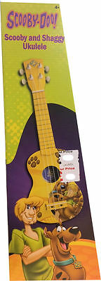 Scooby Doo Scooby & Shaggy Ukulele Brand New In Box
