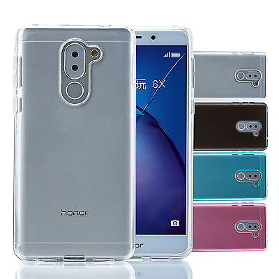 32nd Clear Gel Case Cover For Huawei Honor 6X + Screen Protector & Stylus