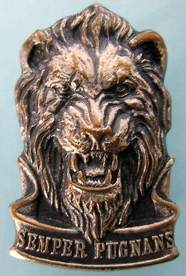 SOUTH WEST AFRICA REACTION FORCE African LION ARMY BORDER WAR metal CAP BADGE