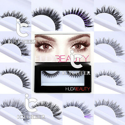 Natural Soft Long Makeup False Eyelashes Cross Extension Eye Lashes Extension