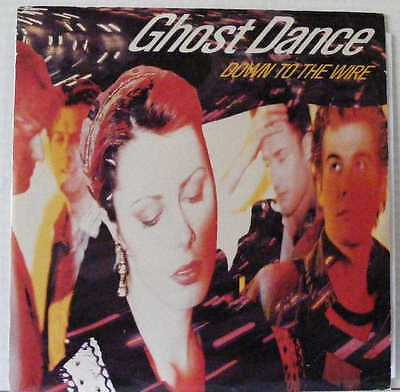 "GHOST DANCE UK 1989 12"" Single  DOWN TO THE WIRE"