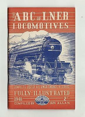 Ian Allan Abc Lner Railways London North East Locomotives Dec 45 No Underlining
