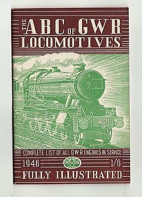 Ian Allan Abc Gwr Railways Great Western Locomotives June 1946 No Underlining