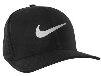 New Nike Golf- Classic99 Mesh Cap Hat 848052-010 Black White Size Small 310413864ac