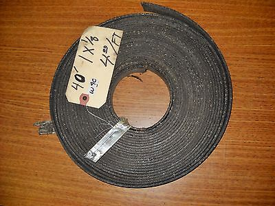 Vintage Brake Lining 40' roll  Industrial Tractor Truck Car cranes