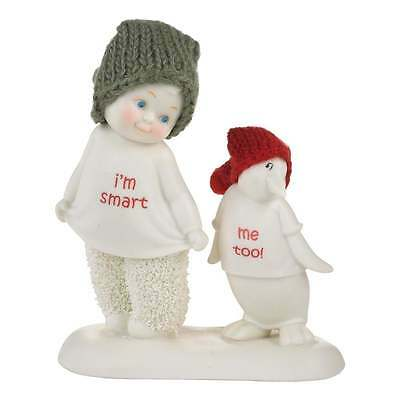 Snowbabies Department 56 I'm Smart Me Too Brand New In Box 4024876