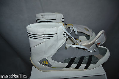 Chaussure Basket Adidas Taille 51 1/3  Neuf /us 16 Boxe Boxing Adistar Fench