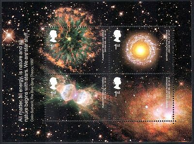Great Britain (GB) 2002 Astronomy/Galaxy/Nebula/Stars/Space/Science 4v m/s  s838