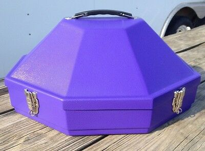 Hammer Plastics purple hardshell Classic hat can //carrier US made