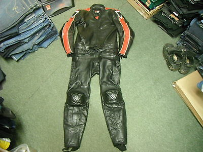 Dainese Size 52 Two Peice Mens Racing Suit
