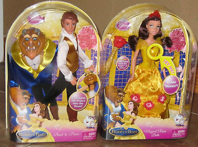 Disney Beauty And Beast To Prince & Magical Roses Belle