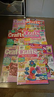 Crafts Beautiful 7 Magazine Lot