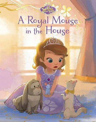 Disney Junior Sofia the First a Royal Mouse in the House New Board book