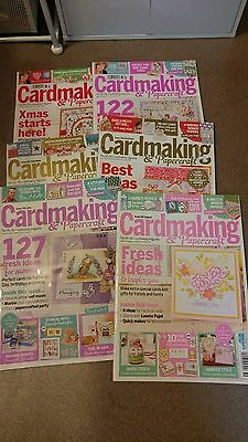 6 European Paper Craft Magazines
