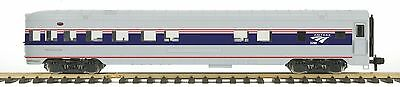 MTH 70-68032, One Gauge/G Scale, Passenger Observation Car (Ribbed) - Amtrak