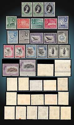 1953 - 1959 Aden Issue + Coronation Mint Never Hinged