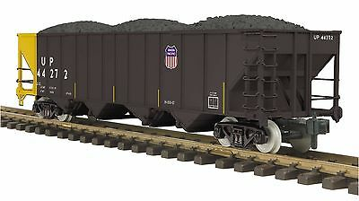 MTH 70-75066, One Gauge / G Scale, 4-Bay Hopper Car - Union Pacific