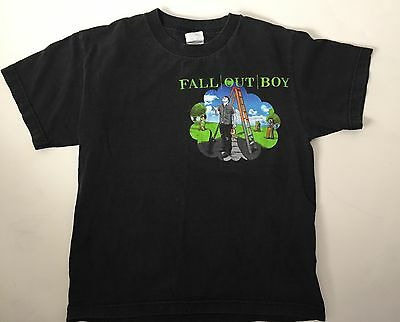 FOB Fall Out Boy Black Clouds Underdogs Tour T-Shirt Youth M Adult XS