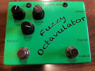 Demeter Fuzzy Octavulator Electric Guitar Effects Pedal