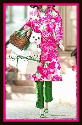 Beautiful Kate Spade spring Barbie outfit fits model muse silk stone barbie