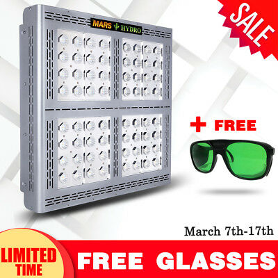 New Mars Pro II Epistar 320 LED Grow Light Full Spectrum Veg Flowering Plant