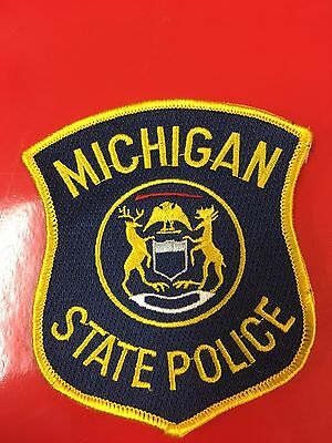Michigan State Police  Shoulder Patch