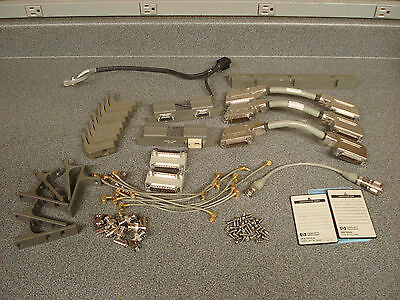 Lot of Misc. HP Spectrum Analyzer Parts including 85704A & 85700A Cards