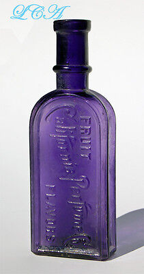 A spectacular CALIFORNIA PERFUME Co antique bottle - originally AVON  !