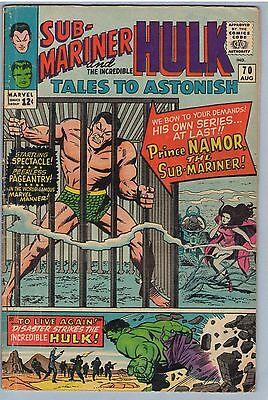 Tales to Astonish 70 Aug 1965 GD-VG (3.0)