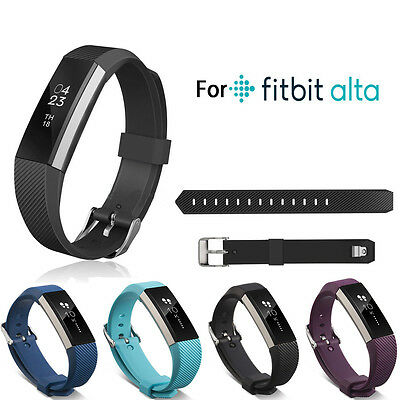 Replacement Wristband Bracelet Strap Wrist Band for Fitbit Alta Classic Buckle