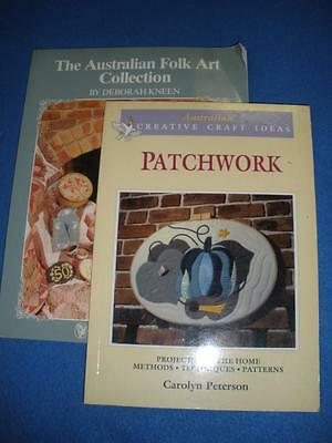 The Australan Folk Art Collection - Patchwork -2 Books