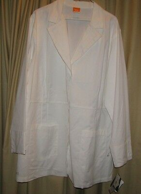 XL Barco NrG Size Women lab coat White Professional Student  NWT NEW Extra Large