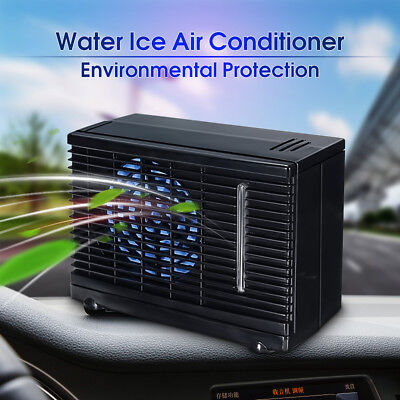 New 12V 3A Portable Car Cooler Cooling Fan Water Ice Evaporative Air Conditioner