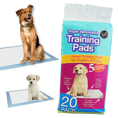 Premier Super Absorbent Puppy Pads Car House Pet Dog Doggie Training Wet Wee Mat