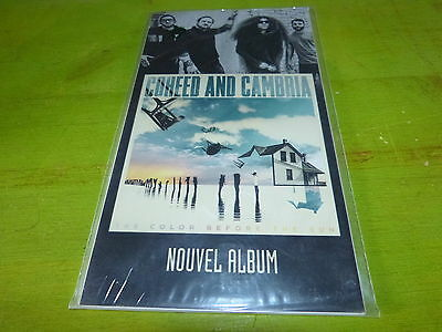 Coheed And Cambria - The Color Before The Sun !plv!rare French Promo Display!!!!